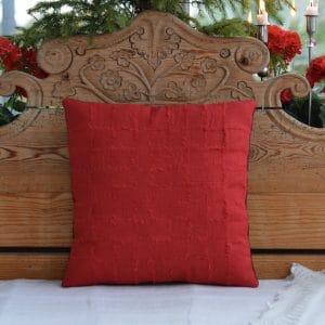 Kit av rött linnetyg